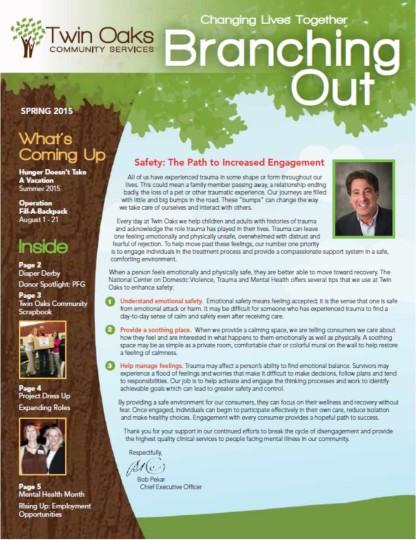 Spring Newsletter 2015