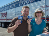 PFG gave out ice cream sandwiches at Touch A Truck last September.