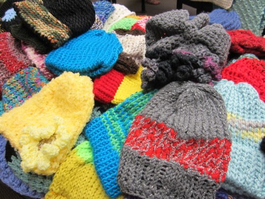 donated hats for oaks integrated care consumers
