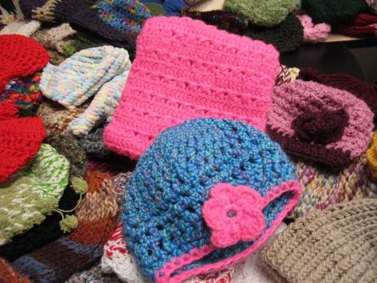 handmade hats for oaks integrated care