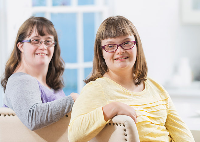 Real People Real Stories - Developmentally Disabled Girls