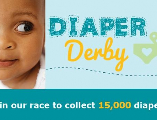 Join Our Race to 15,000 Diapers!