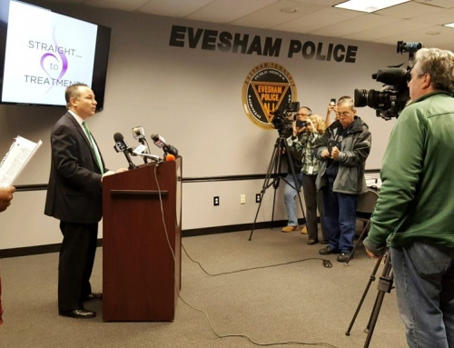 Burlington County Prosecutor's Office launches 'Straight to Treatment' Program in Evesham
