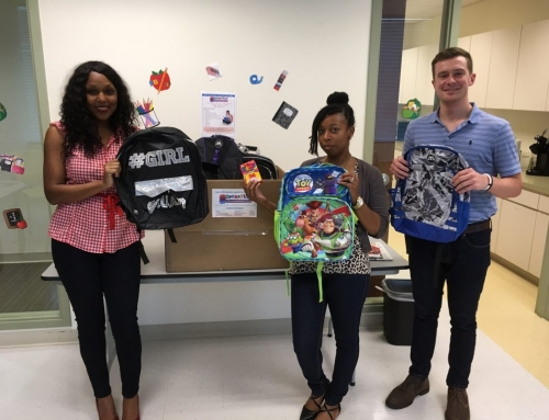 Over 1,030 Backpacks Donated